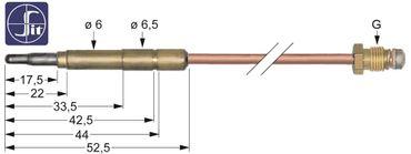 SIT Thermoelement für Lotus TPF4-912GEV, TPF4-610G, Ambach, GIGA