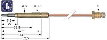 SIT Thermoelement für Baron SERIE 900, SERIE700, GIGA K4FFE 3401