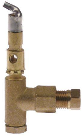 SIT Zündbrenner für Electrolux 1-flammig Bohrung ø 0,2mm 6mm