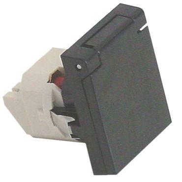Potis Steckdose für E1, E2, E3, EH mit Feinsicherung und Deckel