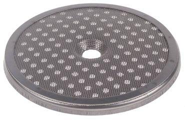 Duschensieb für Espressomaschine mit Aufkantung ø 56,8mm