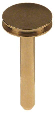 Ablaufventil für Espressomaschine Länge 54mm Messing ø 24,5mm