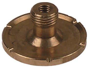 Cookmax Wasserverteiler mit Mittelloch mit 6 Kerben 2mm ø 30mm