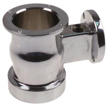 Brühgruppe verchromt für Espressomaschine Messing Innen ø 66,2mm