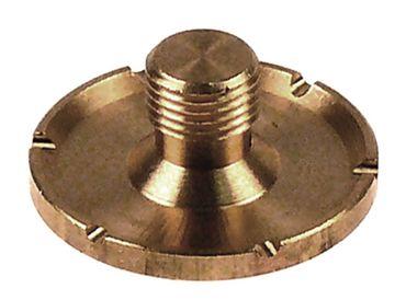 Cookmax Wasserverteiler mit Lochung ø 1,7mm mit Kerben 2mm ø 30mm