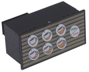 Astoria-Cma Tastatureinheit 7 Tasten für Espressomaschine