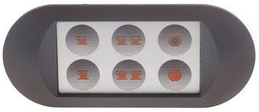 Arianna Tastatureinheit mit Buchse und LED-Beleuchtung 5 Tasten