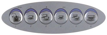 Carimali Frontfolie für E9-Espresso, E9-COF Länge 132mm