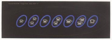 Carimali Frontfolie für EtaBeta-V2-COF-Display Länge 178mm