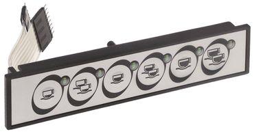 Carimali Folientastatur für Espressomaschine TemaStyle