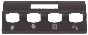 Abdeckung Kunststoff für Espressomaschine Breite 58mm Höhe 20mm