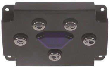 Diamant Tastatureinheit 5 Tasten für Espressomaschine Länge 131mm
