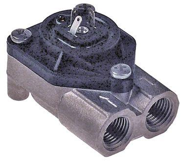 """Flowmeter für Espressomaschine mit LED Edelstahl 1/4"""""""