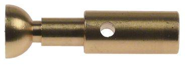 BFC Hebel für Lira, ssica-2-3-4gr Länge 48mm Messing ø 12mm