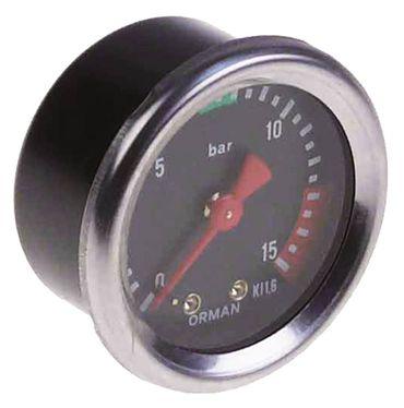 """Grimac Manometer für Espressomaschine 0-16bar ø 53mm 1/8"""""""