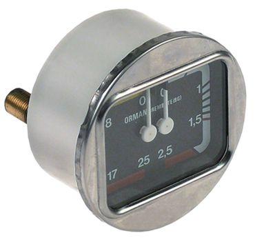 Bezzera Manometer für Espressomaschine B2000, BZ40 0-2,5/0-25bar