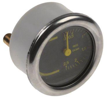 """BFC Manometer für Espressomaschine ssica-1gr Anschluss 1/8"""""""