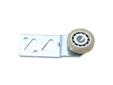 Laufrolle für Kühltheke Rolle 25mm EP hinten ø 25mm Breite 6mm