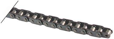 CB Kette Teilung 8mm 41 Glieder Rolle ø 5mm einfach 5 B-1 einfach