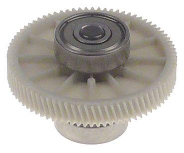 CAB Zahnrad 80 Zähne 29mm ø 42,4mm Zahnbreite 6,6mm Zahnbreite 6,6mm