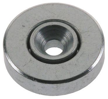 Laufrolle Rolle ø 33,3mm Stahl Breite 9,5mm Kugellager 33,3mm