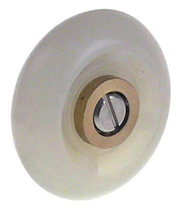 Laufrolle Rolle ø 32mm Kunststoff ø 12mm Breite 11mm M5 32mm
