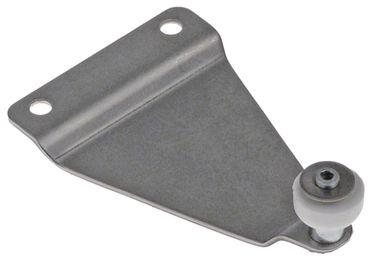 Laufrolle mit Halterung, Lauffläche Kunststoff Lager Gleitlager