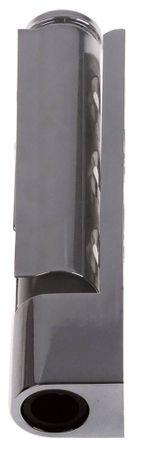Kantenscharnier für Kühlgerät EP links/rechts Länge 125mm 17mm