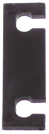 Unterlegplatte ERGO Nr. 6188 für Verschluss Kunststoff Länge 38mm