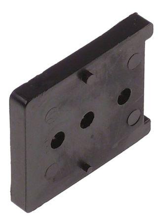 Unterlegplatte JUMBO 6000 für Kühlgerät Länge 48mm Breite 40mm