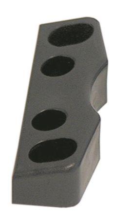 Kloben für Kühlzelle Länge 80mm Breite 18mm Höhe 11mm schwarz