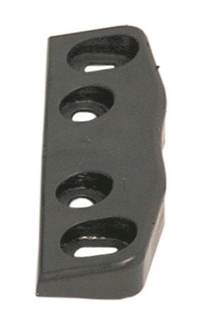 Kloben für Kühlzelle Länge 80mm Breite 18mm Höhe 18mm schwarz