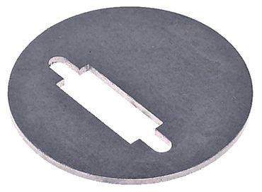 Abdeckplatte Stärke 1,0mm rund ø 40mm