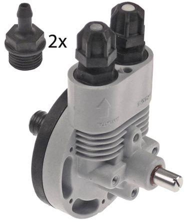 GIADOS 3237 Dosiergerät für Spülmaschine für Klarspüler 4x6mm