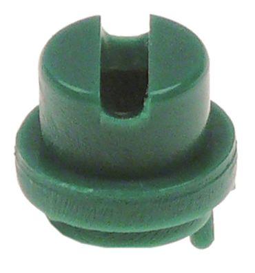 Krefft Waschdüse für Spülmaschine ø 8mm Loch ø 4x7mm grün