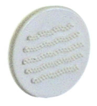 Aurora Knebelsymbol für Kaffeemaschine C Symbol Wasser weiß
