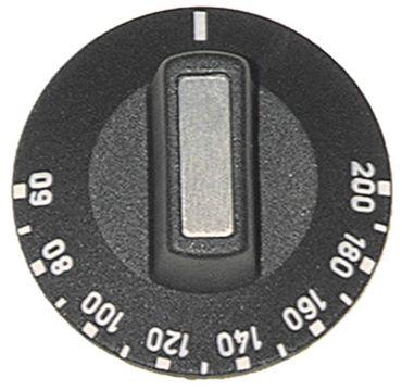 Cuppone Knebel für Pizzapresse P/45, P33 für Thermostat ø 50mm