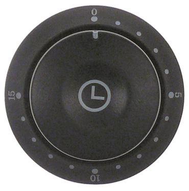 Bartscher Knebel für A151300, A151600 ø 58mm Symbol Zeit 15min