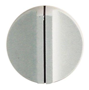 Knebel für Schalter ø 40mm Symbol mit Nullstrich weiß