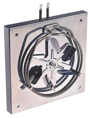 Heizeinheit mit Ventilator 1600W 115/230V Länge 240mm 50/60Hz