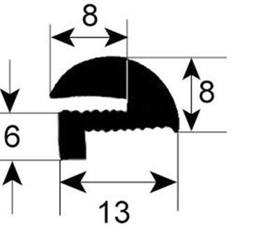 Coven Fensterdichtung für Konvektionsofen Elektro Tec-5GPmec, MX