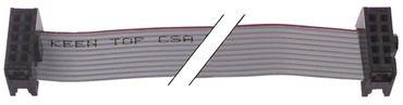 Dihr Flachbandkabel mit kodiertem Stecker 10-polig Länge 1000mm