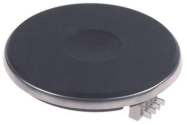 EGO Kochplatte mit 8mm Überfallrand 12.14413.002 230V 1000W