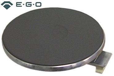 EGO Kochplatte mit 8mm Überfallrand 12.14453.025 400V 1000W