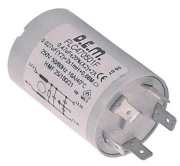 Inoxtrend Entstörfilter für Kombidämpfer MDP-6G 230V 50/60Hz