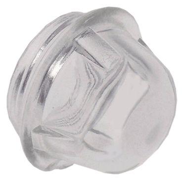 Linsennippel ø 54mm Höhe 43mm Hartglas ø 44mm 350°C