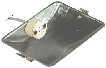 Rational Lampenfassung für Kombidämpfer CM201, CM101, CD101 G4