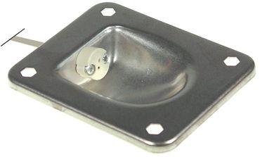 Rational Lampenfassung für Kombidämpfer CM201, CM101, CM102 G4