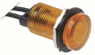 Capic Signallampe für W384112, W384111 gelb ø 12mm 380V