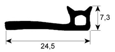 Alpeninox Ofendichtung Profil 2950 VPE Meterware